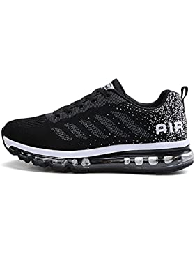 [Sponsorizzato]Fexkean Unisex Scarpe da Ginnastica Basse Sneakers Sportive Running Fitness Gym Shoes
