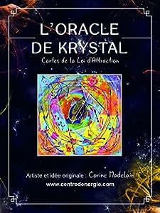 ORACLE DE KRYSTAL - 38 cartes oracle vibratoires + livre
