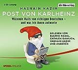 Post von Karlheinz von Hasnain Kazim