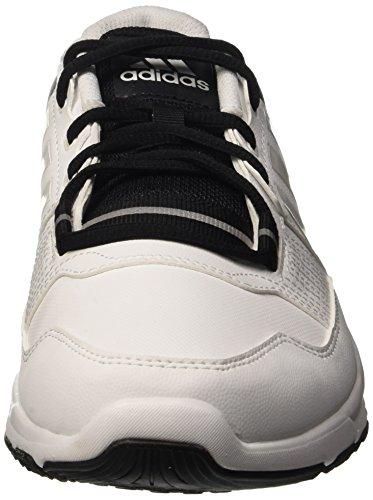 adidas Gym Warrior .2, Chaussures de Fitness Homme Multicolore - Multicolore (Ftwwht/Ftwwht/Cblack)