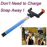 Selfie Stick / Palo para Selfies extensible con control remoto por Bluetooth poste de teléfono móvil del teléfono celular iPhone 6 5S 5 Samsung Galaxy