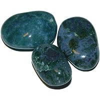 Moosachat Trommelsteine 100 Gramm - 7 - 11 Steine, schöne Handschmeichler. (2479) preisvergleich bei billige-tabletten.eu