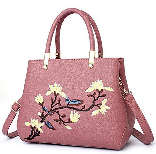 Dolce signora stereotipi borsa a tracolla borse moda Messenger (black) Pink