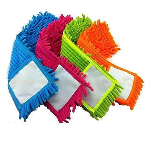 r Mop Head Refill Ersatz Tuch waschbar Staub Reinigung Pad Cover (Tücher Refill)