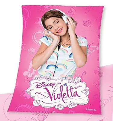 Manta polar Violetta Disney Music 100x150 de Disney