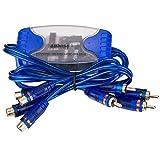 SDYDAY 4 canales RCA tierra Loop aislador con línea eliminador de ruido filtro de sonido