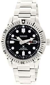 Seiko - SRP585K1 - 5 Sports - Montre Homme - Automatique Analogique - Cadran Noir - Bracelet Acier Gris