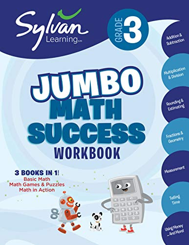 Success Workbook: Activities, Exercises, and Tips to Help Catch Up, Keep Up, and Get Ahead (Sylvan Math Jumbo Workbooks) ()