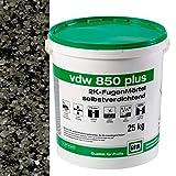 VDW 850 plus 2K Fugenmörtel 25kg/Eimer (basalt)