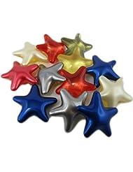 20 Perles de Bain Etoiles - Assortiments de senteurs et couleurs