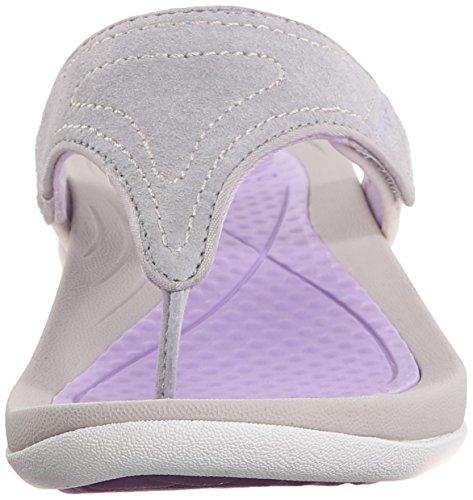 Dansko Katy 2 Daim Tongs Grey-Lavender