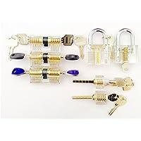 lockmall Master Set completo 7pezzi trasparente Locks famiglia per giocatori pratica