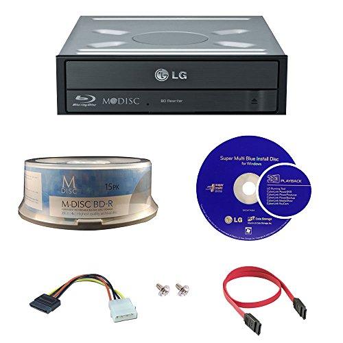 lg-14x-blu-ray-disc-m-cd-dvd-bdxl-bd-bluray-burner-con-15pk-gratis-mdisc-bd-cyberlink-riproduzione-3