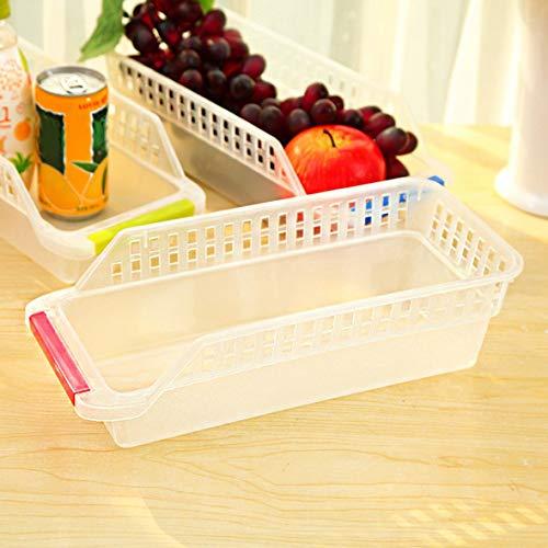 Heaviesk Gefrierschrank Kühlschrank Organizer Trays Bins Pantry Schrank Aufbewahrungsbox Kühlschrank Obst Gemüse Container Aufbewahrungskörbe - Kühlschrank, Pantry