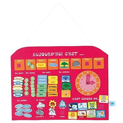 Ludi - 2116 - Calendrier Horloge -