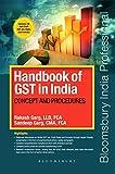 Handbook of GST in India: Concept and Procedures