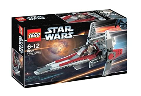 LEGO Star Wars 6205 V-Wing Fighter (Lego Star Wars A Wing)