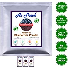 Freeze Dried Blueberry FRUIT POWDER -American Blueberry-Pack of 3 (Freeze Dried,100% fruit powder)