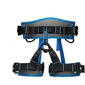 Escalada cinturón de seguridad arneses, half-body arnés seguro para montañismo espeleología escalada en roca Rappelling equipo de rescate de nivel superior