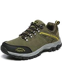 1344d643f24e5 JOYTO Scarpe da Trekking Uomo Escursionismo Arrampicata Sportive Camminata  Calzature Outdoor Grigio Marrone Army Green 39