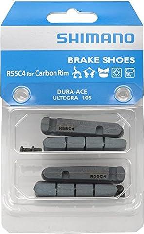 Shimano R55C4 - Plaquettes de frein - pour Dura Ace/Ultegra/105, jantes en carbone noir 2014 patin frein velo