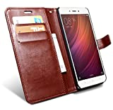 Best Wallet Case For Note 4 - HOM Leather Wallet Flip Case Cover for Xiaomi Review