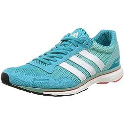 Adidas Adizero Adios W, Zapatos para Correr para Mujer, (Eneblu/ftwwht/easmin), 37 1/3 EU