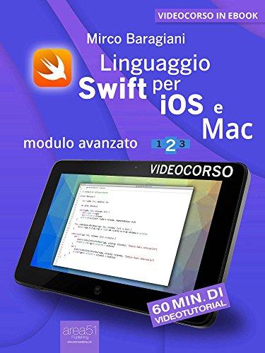 Linguaggio Swift di Apple per iOS e Mac: Modulo avanzato. Livello 2