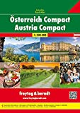 Österreich Compact, Autoatlas 1:200.000, freytag & berndt Autoatlanten