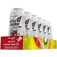 Best Body Nutrition Vital Drink Mix up 1:80 Cola Flavour Drops, 6 x 48ml