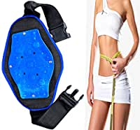 6bb558ead8ed5 Frackkon Magnetic Slimming Massager Belt Vibration Tummy Control Shapewear  Fat Burner Sauna Suit Cincher Fat Cutter