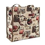 Signare Womens Fashion Tapestry Shopper Bag Shoulder Bag in Boutique Design