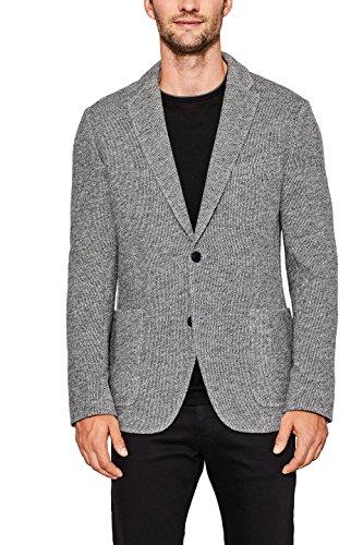 ESPRIT Collection Herren Sakko Grau (Grey 030)