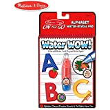 Melissa & Doug On The Go Water Wow! Alphabet (Reusable Water-Reveal Activity Pad, Chunky-Size Water Pen)