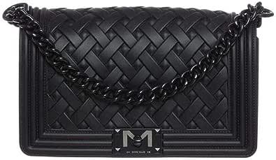 Marc Ellis Borsa flat braid M tracolla black/black
