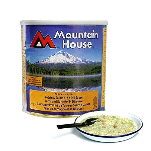 Mountain House Lachs mit Kartoffeln in Dill Sauce - 7 Portionen (750g)