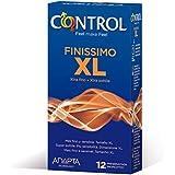 Control Finissimo XL Preservativos - Pack de 12 preservativos
