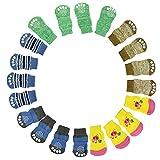 ♥ Loveso ♥-Haustier Hunde Haustier Hund Welpen Katze Socken , 5 zufällige Farbe ((Größe) : M, Zufällige Farbe)