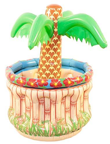 Folat 20568 Aufblasbare Palme zum Kühlen Mehrfarbig