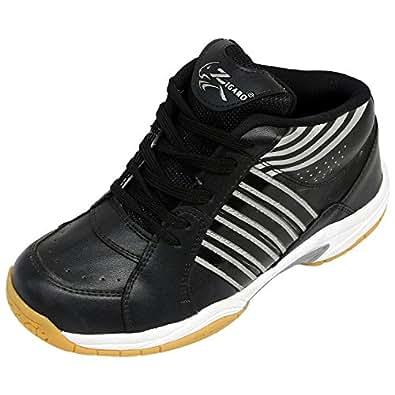ZIGARO Basketball Shoe-Black Silver