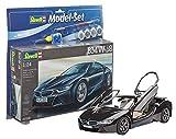 Revell Modellbausatz Auto 1:24 - BMW i8 im Maßstab 1:24, Level 4,...