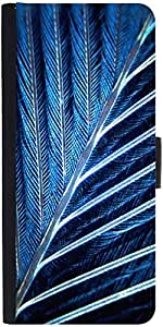 Snoogg Feather Designer Protective Flip Case Cover For Apple Iphone 6 Plus