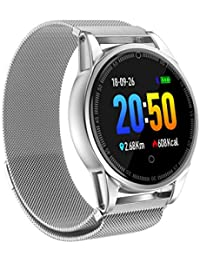 Mode Fitness Tracker BZLine Fitness Armband Uhr Herz Rate Blutdruck Monitor Musiksteuerung Smart Band IP67 Wasserdichte Smart Armband für IOS Android Telefon für Kinder, Frauen, Männer