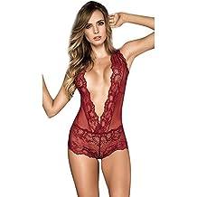e78a3df9be8 Transparentes Ropa Interior Mujer,Venmo❤ Lenceria Sexy Mujer,Ropa Erotica  de Mujer en
