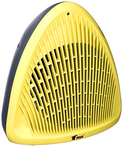 Soufflant chauffage 2000 W Radiateur électrique de haute puissance et motif jaune