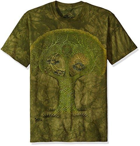 The Mountain Herren T-Shirt Celtic Roots - Grün - X-Groß -