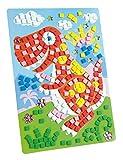 folia 23804 - Moosgummi Mosaikbild Dinosaurier, 405 teile
