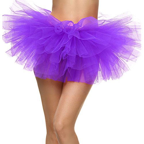 Tutu Rock für Frauen Tüll 5-lagig Ballerina-Tänzerin