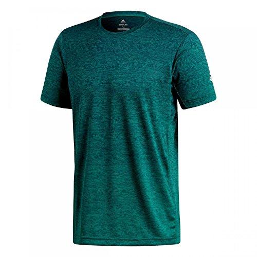 adidas Herren Freelift Gradient Kurzarm T-Shirt, Mystery Ink/Noble Green, L