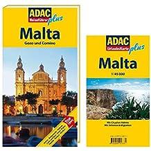 ADAC Reiseführer plus Malta: Mit extra Karte zum Herausnehmen